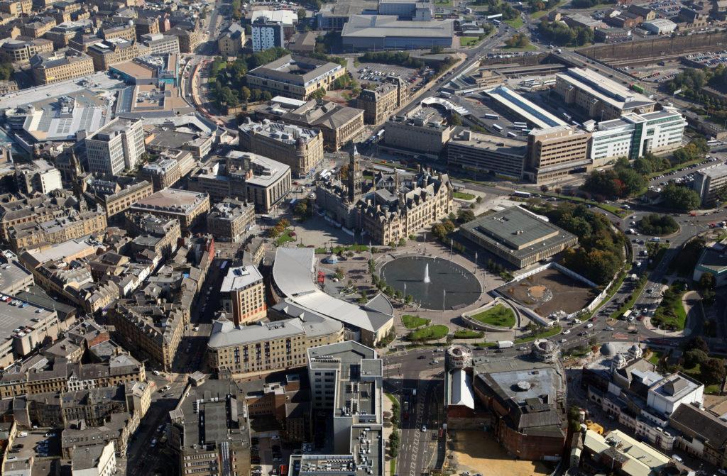 Bradford aerial view